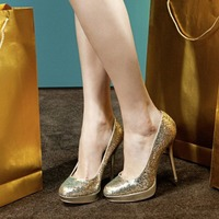 Fashion: 10 pairs of outrageously sparkly party shoes for under £40