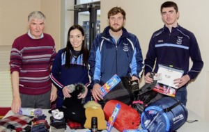 Ballyhegan Davitt's get into festive spirit with homeless gift drive