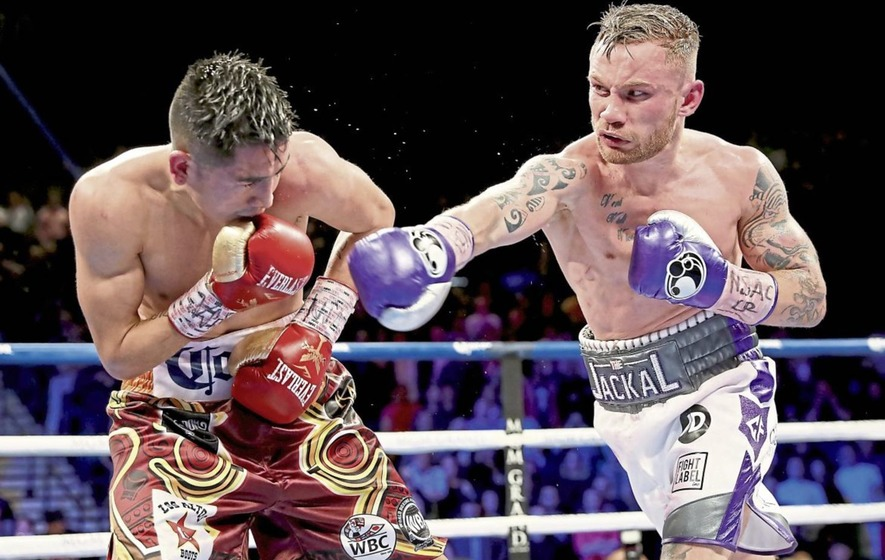 Carl Frampton set to face Nonito Donaire on April 7th