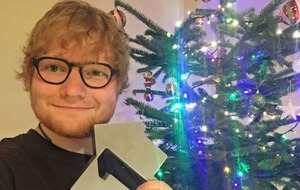Ed Sheeran celebrates Perfect end to 2017 with Christmas number one