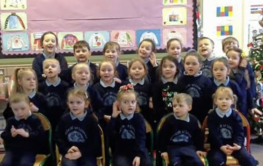 Pupils ask Santa to deliver Irish Language Act this Christmas - The ...