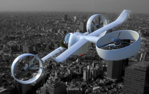 The future of UK transport is almost here as tech start-up unveils new concept passenger drone