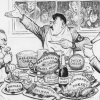 Lord Archer auctions political cartoon collection for education charities