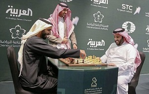 Saudi Arabia hosts world chess tournament for the first time nearly two years