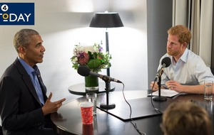 Barack Obama warns against 'divisive' use of social media in interview with Prince Harry