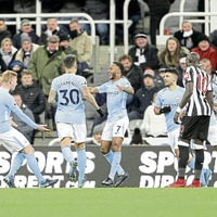 Raheem Sterling is Manchester City match-winner against Newcastle