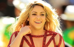 Shakira pushes world tour back again after vocal cord damage