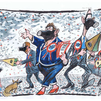 2017 In Review: Ian Knox cartoons