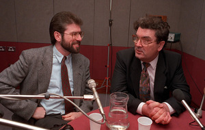 Gerry Adams was said to be working on peace plan in 1987, say papers