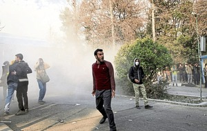 Two protesters killed in an anti-government rallies in Iran
