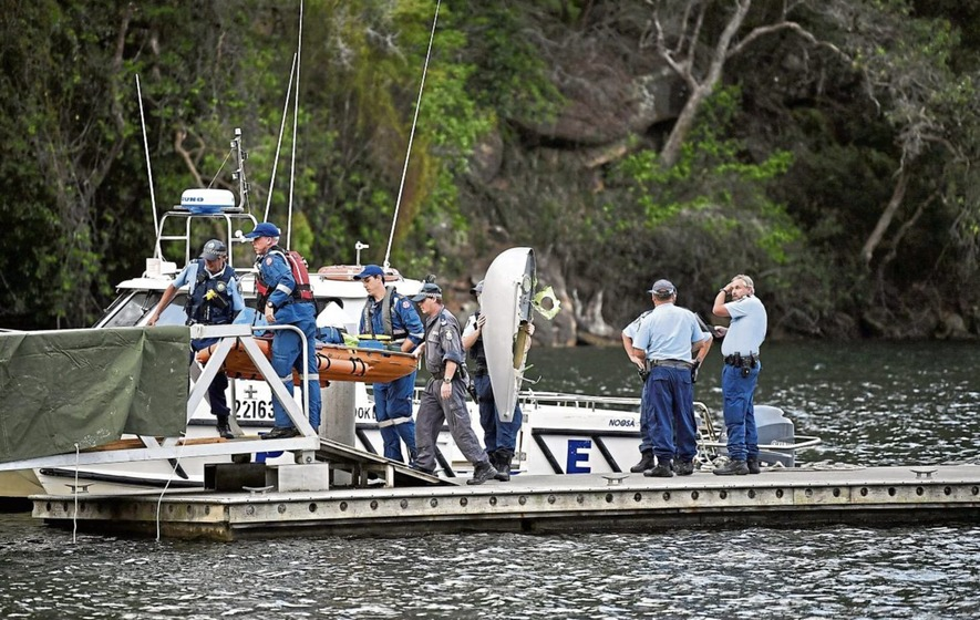 Four Britons feared dead in sea plane crash near Sydney