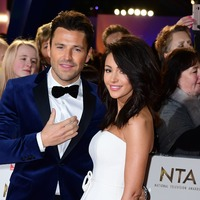 Michelle Keegan and Mark Wright ring in new year with a kiss