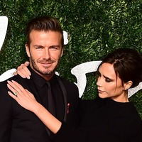 Beckhams see in the new year with their four children