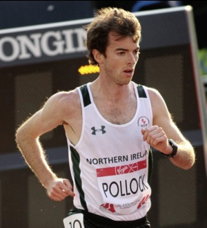 Annadale athlete Paul Pollock finishes 2017 on a high