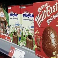 Shoppers bemused as Easter eggs start to appear on supermarket shelves