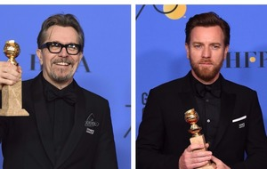 Oldman and McGregor triumph at Golden Globes dominated by harassment scandal