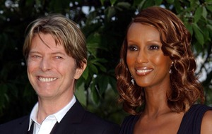 Iman remembers late husband David Bowie on his birthday