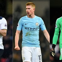 Who are the 17 Premier League stars on EA Sports' Team of the Year shortlist?