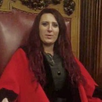 Jayda Fransen: Anger as far-right politician films video in Belfast Lord Mayor's chair