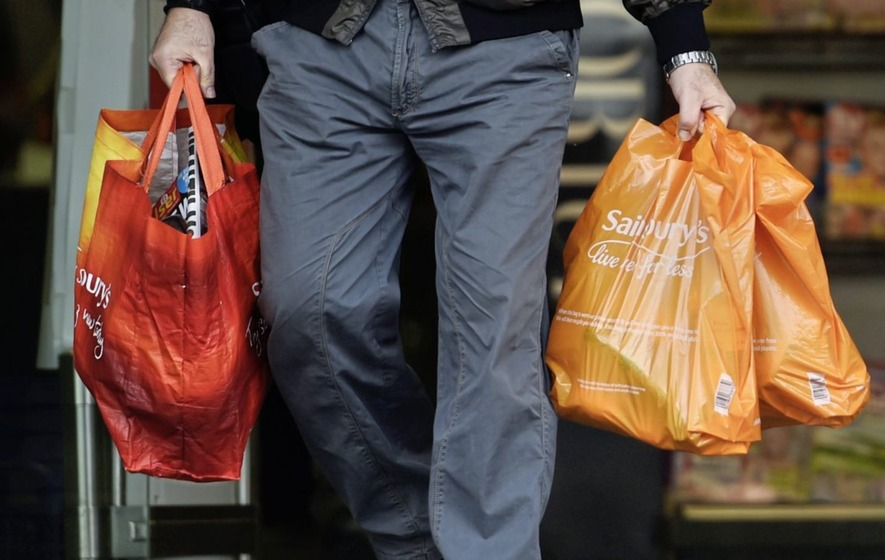 Sainsbury's boss says food price rise should ease this year