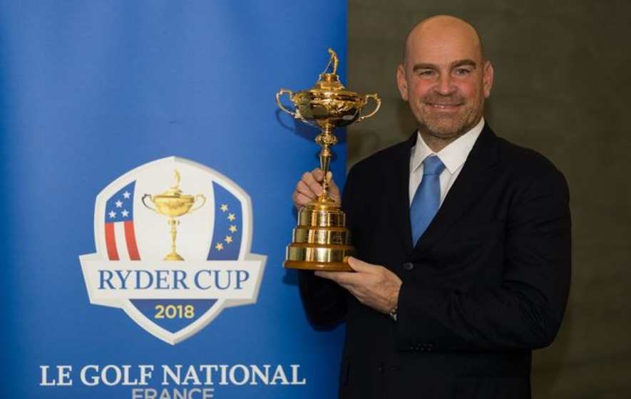 Thomas Bjorn takes leaf out of Jurgen Klopp's book after Liverpool manager's EurAsia Cup message