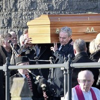 TD worked to bridge the Troubles divide, mourners at Paddy Harte's funeral are told