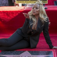 Mary J Blige thanks Mudbound as she's honoured on Hollywood Walk of Fame