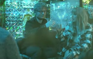 Taylor Swift and Ed Sheeran let their hair down in End Game video