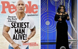 Sleb Safari: Oprah v The Rock - Who will win the 2020 US presidential race?