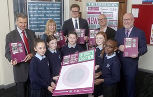 Irish News Young News Readers project will highlight importance of literacy