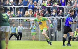 Donegal beat Monaghan in high-scoring clash to reach McKenna Cup semi-final