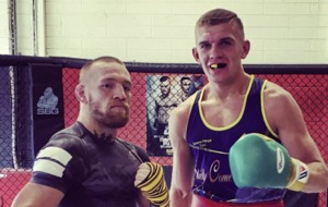 Rising boxing star Conor Wallace posts Facebook video saying 'I have not been arrested nor charged with anything'