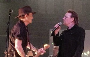 Stars take to Dublin stage for Shane MacGowan's 60th birthday bash