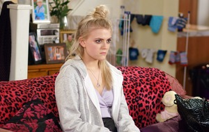 Bethany Platt's secret comes out in Corrie