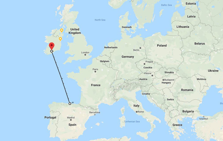 Ferry Link Between Ireland And Spain Starts At End Of April
