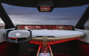 Nissan's new Xmotion concept car is full of touchscreens and has its own virtual assistant