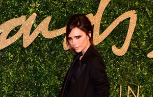 Victoria Beckham shows off her fun side for Vogue Spain shoot