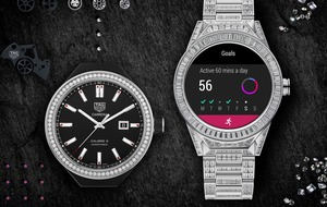 This diamond-studded Tag Heuer smartwatch will set you back £130,000