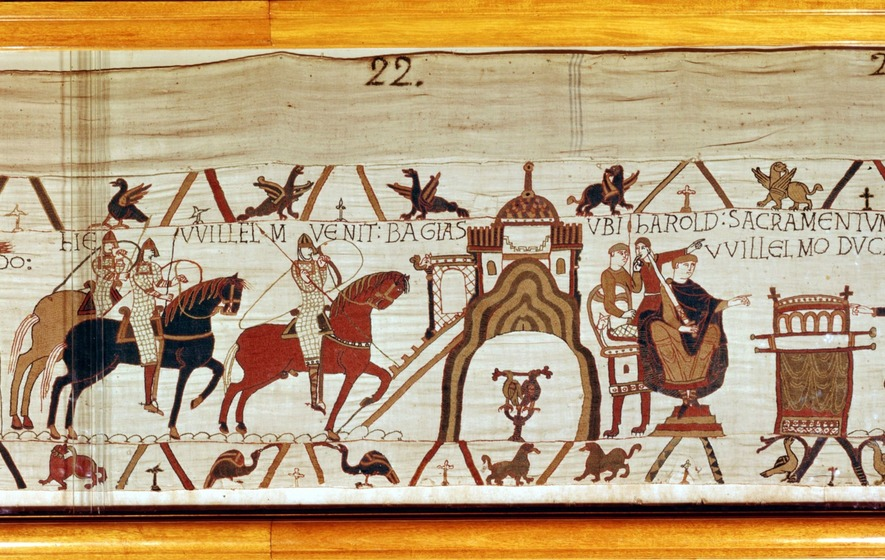 bayeux tapestry letter Brexit sketches for the remake of the bayeux tapestry from cameron to may, with a small walk-on part for liam fox letter in response to this column:.