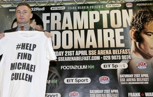Boxer Carl Frampton lends support to search for missing north Belfast man Michael Cullen