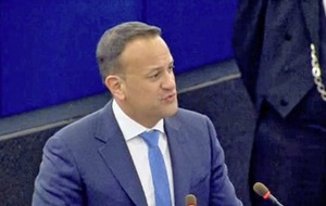 Leo Varadkar highlights role of EU in securing peace