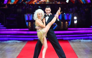 Debbie McGee shows off flexibility to launch Strictly Come Dancing live tour