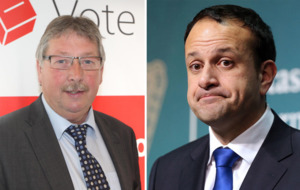 Sammy Wilson apologises after calling Leo Varadkar a 'nutcase'