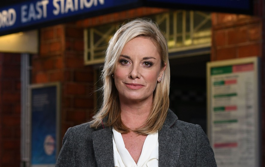 EastEnders' Tamzin Outhwaite shares hilarious postbox on-set blunder