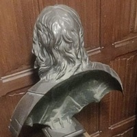 Mystery as Oliver Cromwell's bust turned to face wall at Westminster