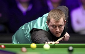 Kyren Wilson and Mark Allen level in Masters snooker final