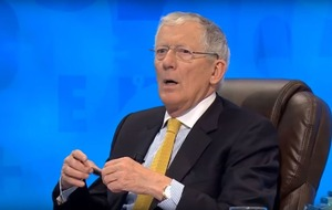 Nick Hewer shocked as rude word crops up on Countdown
