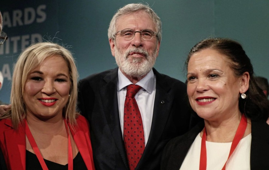 Mary Lou McDonald to lead Sinn Fein after Gerry Adams steps down