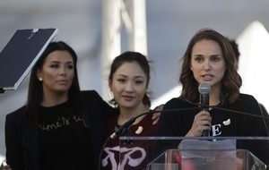 Natalie Portman documents 'sexual terrorism' at Women's March