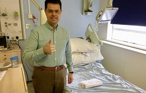 James Brokenshire recovers from surgery